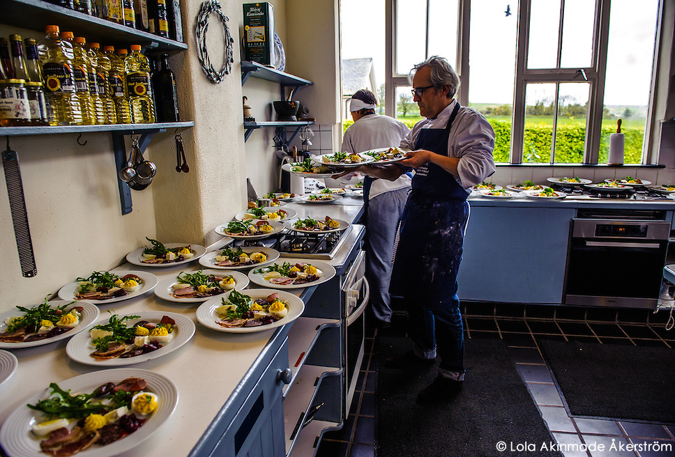 Irish food at Ballymaloe Manor House & Cookery School (Lola Akinmade)