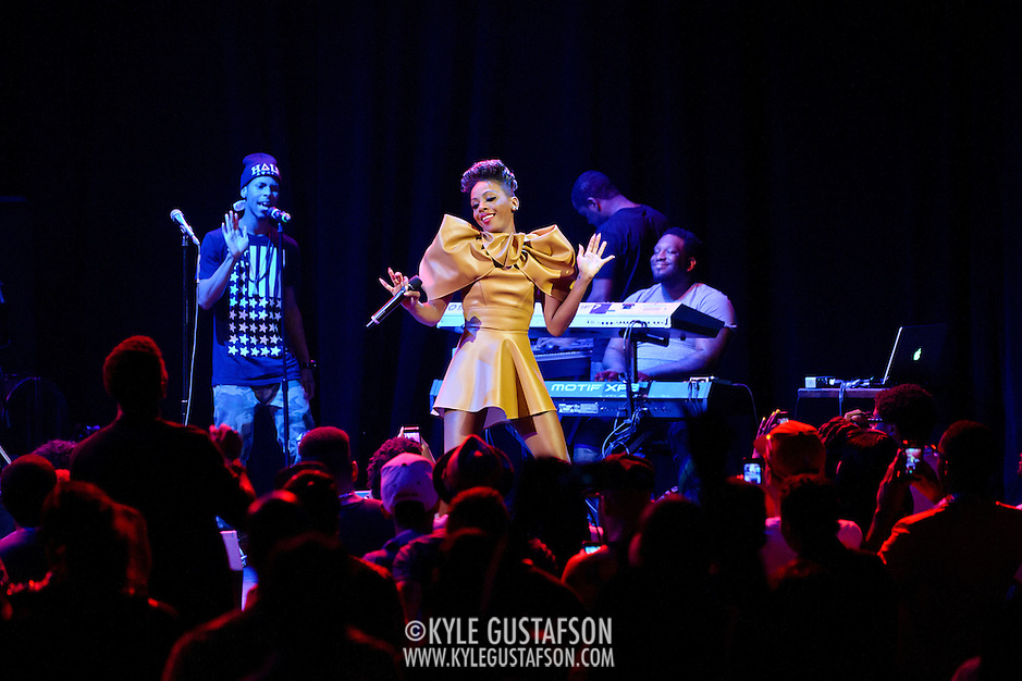 WASHINGTON, DC - May 10th,  2013 -  Former Danity Kane and Diddy - Dirty Money member Dawn Richard performs at the Howard Theatre in Washington, D.C.  Richard released her second full length album, Goldenheart, in January. It's the first of a planned three album arc dealing with love, loss, and redemption. (Photo by Kyle Gustafson/For The Washington Post) (Kyle Gustafson/For The Washington Post)