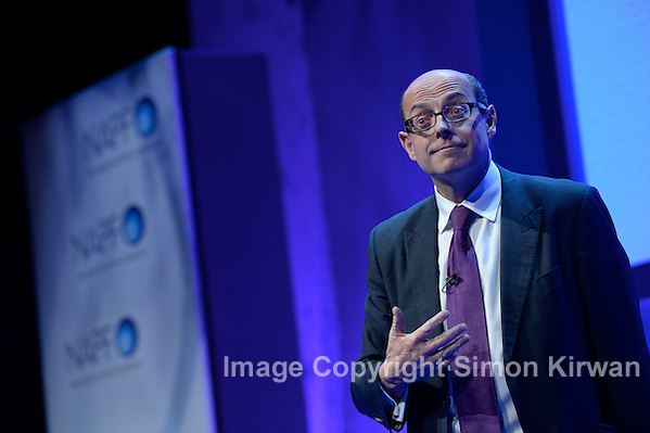 BBC Political Editor Nick Robinson, BT Convention Centre Liverpool - Event Photography By Simon Kirwan