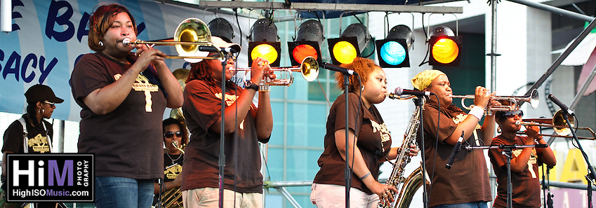 Pinettes Brass Band @ French Quarter Festival 2011. (Golden G. Richard III)