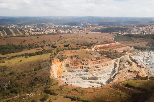 Photo by Andrew An open cast mine on the outskirts of Belo Horizonte, Brazil. Photography by Andrew Tobin/Tobinators Ltd (Andrew Tobin/Tobinators)