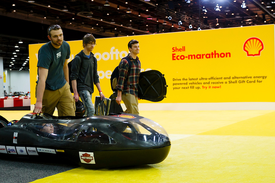 Shell Eco-marathon Americas 2015 in Detroit, Mich., Thursday, April 9, 2015. (Rick Osentoski/AP Images for Shell) (Rick Osentoski)