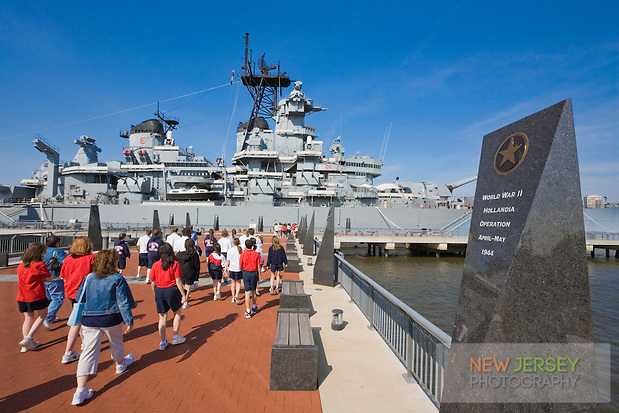 USS New Jersey Battleship (BB62), Camden Waterfront, Delaware River, New Jersey (Steve Greer)
