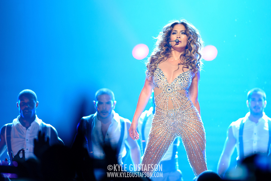 WASHINGTON, DC - July 28th - Pop superstar Jennifer Lopez performs at the Verizon Center as part of her &quot;Dance Again&quot; world tour. (photo by Kyle Gustafson) (Photo by Kyle Gustafson)