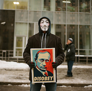 Mass rally against election fraud in central Moscow (Max Sher)