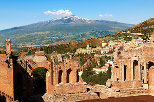 Greek Theatre Ampitheatre - Taormina Sicily (Paul_Williams)