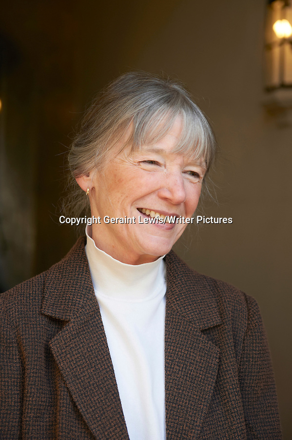 Anne Tyler, American Pulitzer Prize winning author and writer at The Oxford Literary Festival at Christchurch College Oxford. Her new novel The Beginner's Goodbye is published in April 2012. Taken 1st April 2012 Credit Geraint Lewis/Writer Pictures WORLD RIGHTS (Geraint Lewis/Writer Pictures)