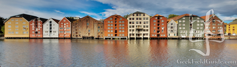 The waterfront buildings in Trondheim have a unique look and feel. (Warren Schultz)