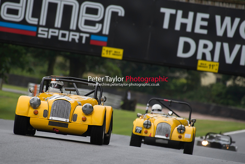 #67 Dominic HOUSE Morgan Roadster during AR Motorsport Morgan Challenge as part of the Vintage Sports-Car Club Formula Vintage Festival at Oulton Park, Little Budworth, Cheshire, United Kingdom. June 10 2017. World Copyright Peter Taylor/PSP. Copy of publication required for printed pictures.  Every used picture is fee-liable. http://archive.petertaylor-photographic.co.uk (Peter Taylor/PSP)