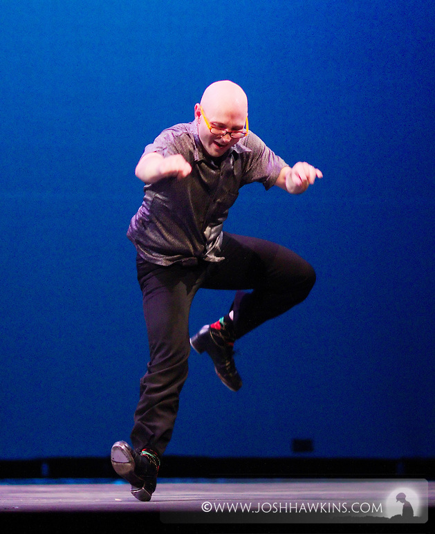 Chicago Tap Theatre - Tap!(ish).Can't Take My Eyes Off of You.Dancer, Mark Yonally (Josh Hawkins)