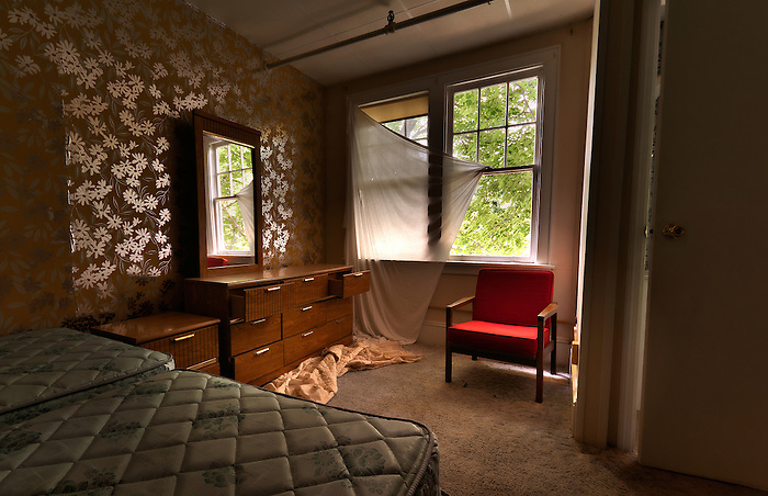 The Abandoned Hotel Adler in Sharon Springs NY New York. (Walter Arnold)