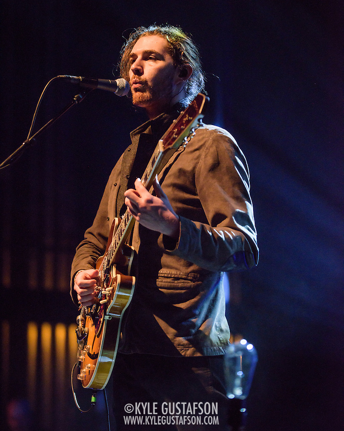 "WASHINGTON, DC - March 7, 2015 - Hozier performs at the Lincoln Theater in Washington, D.C. His hit song ""Take Me To Church"" was nominated for Song of the Year at the 2015 Grammys. (Photo by Kyle Gustafson / For The Washington Post) (Kyle Gustafson/For The Washington Post)"