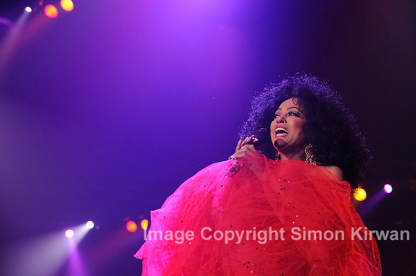 Diana Ross - Music Photography By Simon Kirwan - www.the-lightbox.com