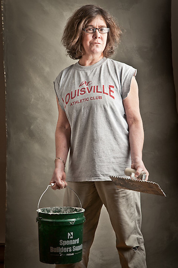 Nina Pere, tile contractor, Anchorage (Clark James Mishler)