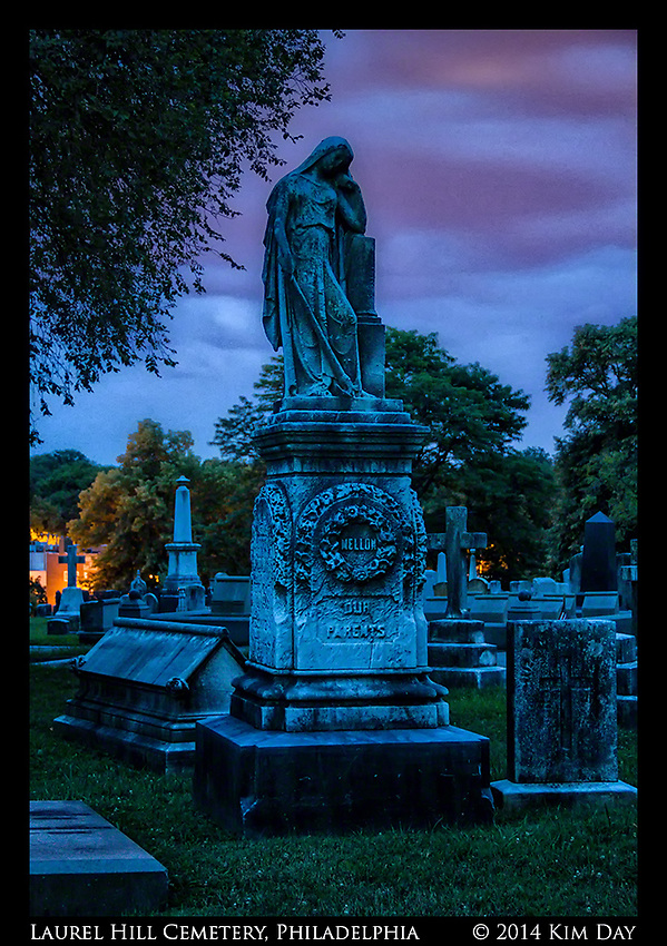Twilight At Laurel Hill Philadelphia, PA July 2014 (Kim Day)
