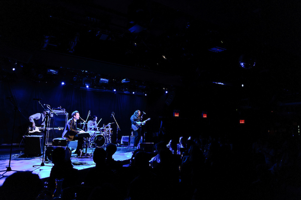 Photos of songwriter Peter Cincotti performing at Le Poisson Rouge, NYC. May 23, 2012. Copyright © 2012 Matthew Eisman. All Rights Reserved. (Photo by Matthew Eisman/Getty Images)