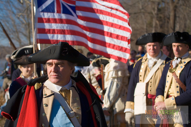 Revolutionary War Reenactors, George Washington & the Continental Army, Washington Crossing State Park, New Jersey (Steve Greer/Released)