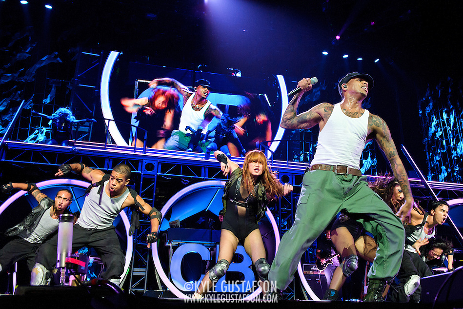 WASHINGTON, DC - September 17th, 2011 -Chris Brown performs at the Verizon Center. Brown released his fourth studio album, F.A.M.E., earlier this year and has another album slated for release in early 2012.  (Photo by Kyle Gustafson/For The Washington Post) (Kyle Gustafson/FTWP)