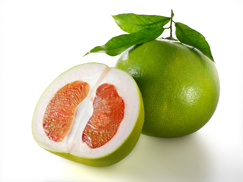 Fresh Pomelo citrus  Fruit (by food photographer Paul Williams. http://www.funkyfood.co.uk)