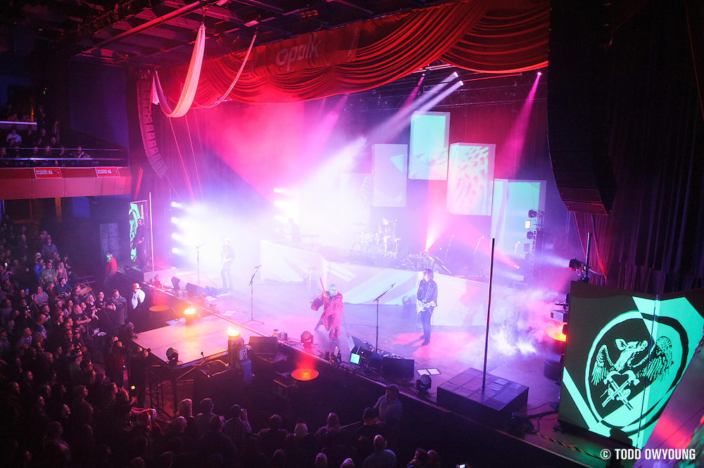 Pink Floyd tribute band El Monstero performing at the Pageant in St. Louis on December 21, 2012. (Todd Owyoung)