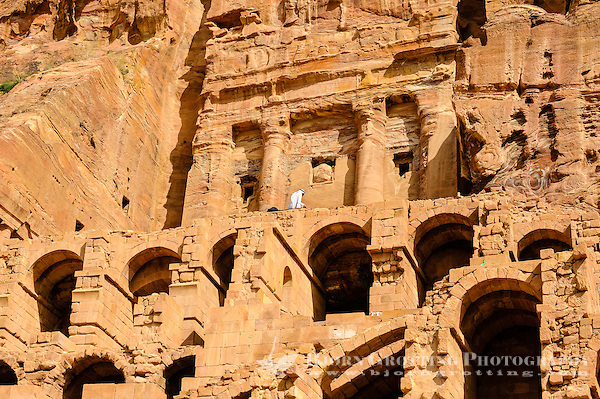 Petra is Jordan's most visited tourist attraction. Rock-cut tombs. (Photo Bjorn Grotting)