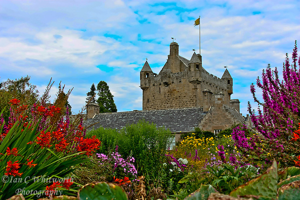 Cawdor Castle from the beautiful gardens (Ian C Whitworth)