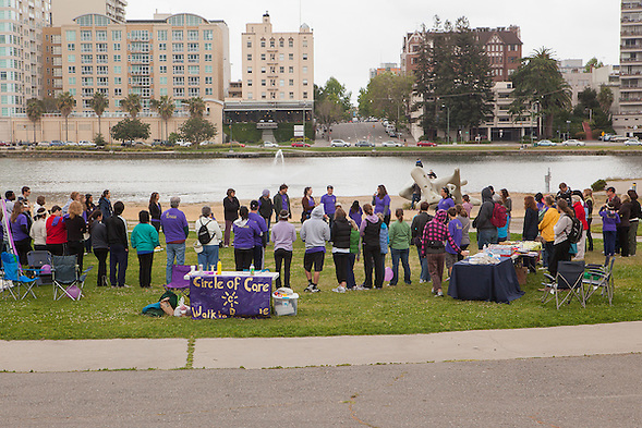 The East Bay Agency for Children organized the 2nd Annual Walk to Remember on May 14, 2011 at Oakland's Lake Merritt to support The Circle fo Care. (bryan farley)