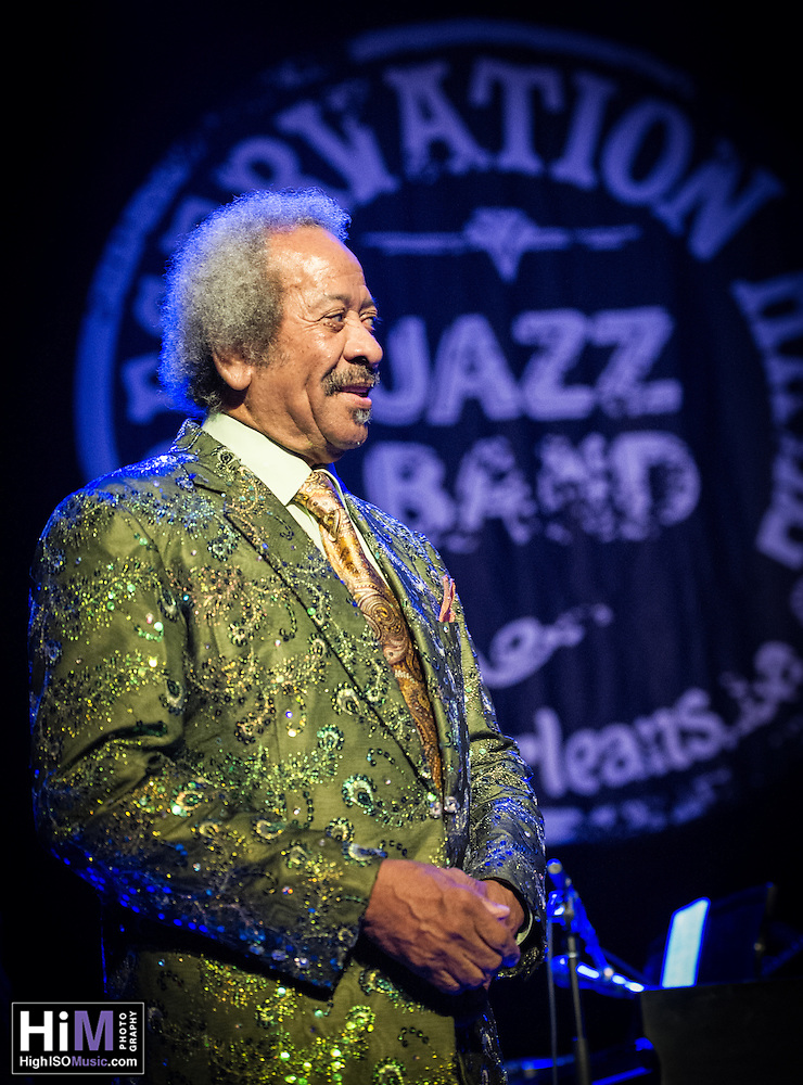 Allen Toussaint performs at the Preservation Hall Jazz Band Ball at the Civic in New Orleans, LA. (HIGH ISO Music, LLC)