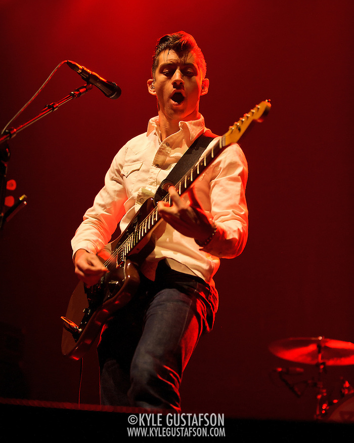 WASHINGTON, DC - March 9th, 2012 -  The Arctic Monkeys open for The Black Keys at the Verizon Center in Washington, DC. (Photo by Kyle Gustafson/For The Washington Post) (Photo by Kyle Gustafson)