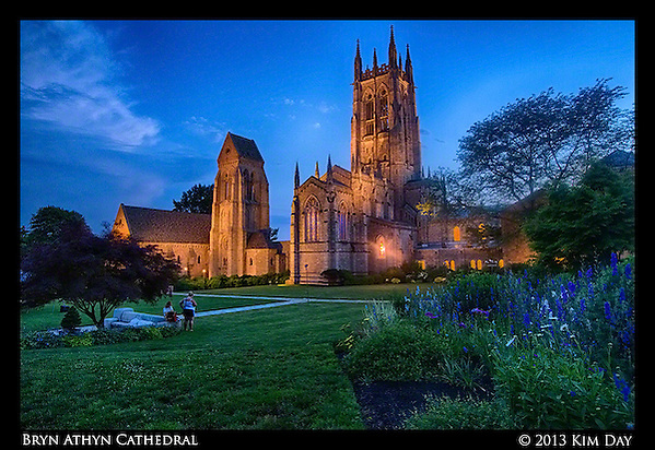 Cathedral Glow Bryn Athyn Cathedral June 2013 (Kim Day)