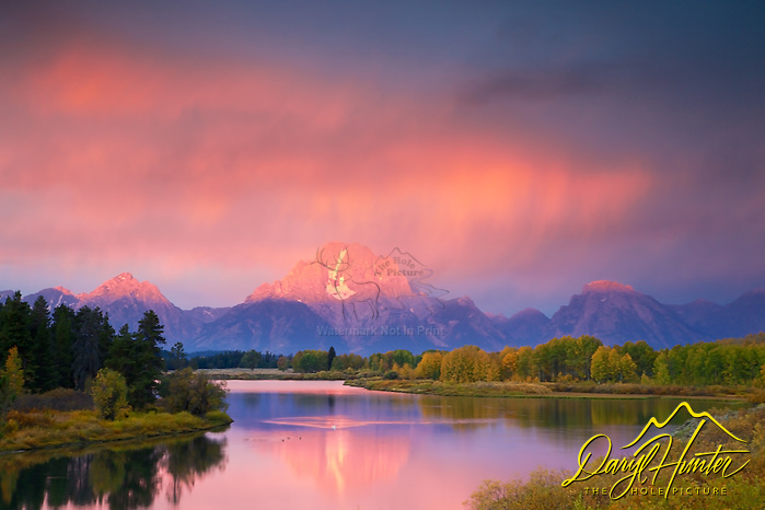 "Thunderstorm, Sunrise, Grand Tetons, Oxbow Bend, Jackson Hole, Wyoming (© Daryl Hunter's ""The Hole Picture""/Daryl L. Hunter)"