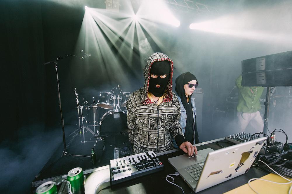 Photos of Quadruplos performing live at Secret Solstice Music Festival 2014 in Reykjavík, Iceland. June 22, 2014. Copyright © 2014 Matthew Eisman. All Rights Reserved (Matthew Eisman/Photo by Matthew Eisman)