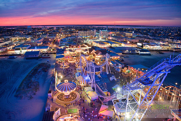 Amusement Theme Park, on the beach, Wildwood, New Jersey (Steve Greer)