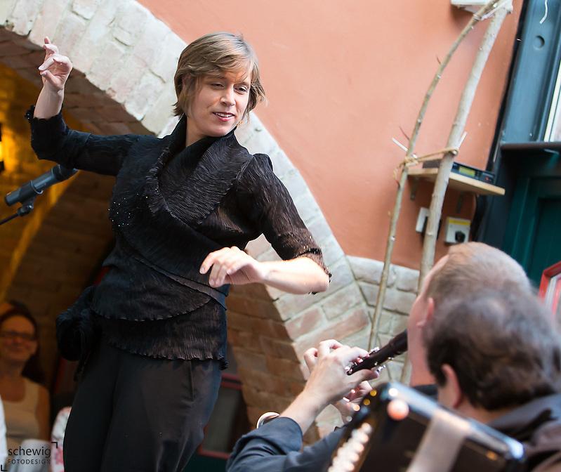 Konzert von Agnes Palmisano und Klezmer Reloaded im Rahmen des Kammermusikfestivals Allegro Vivo in Schönberg am Kamp (Dieter Schewig)