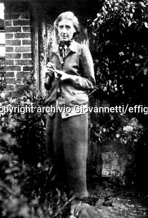 Virginia Woolf archivio Giovannetti/effigie (archivio Giovannetti/effigie)