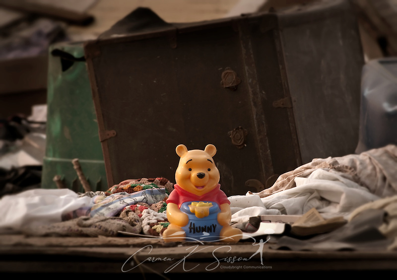 A child's toy sits among the rubble of a demolished apartment at Rosedale Court June 4, 2011 in Tuscaloosa, Ala. The housing complex was destroyed by the April 27 F-5 tornado which took 43 lives in Tuscaloosa. (Photo by Carmen K. Sisson/Cloudybright) (Carmen K. Sisson/Cloudybright)