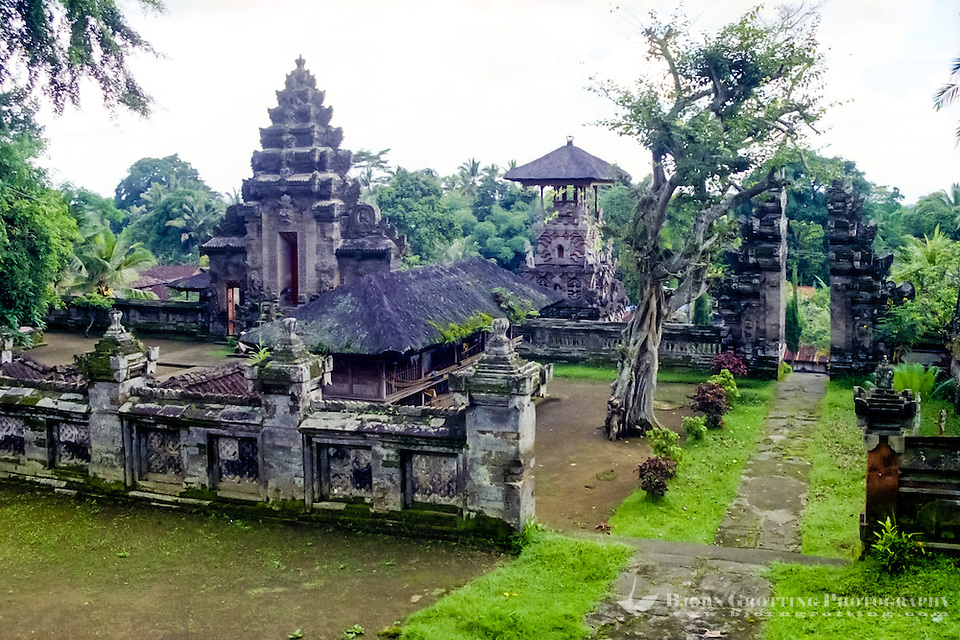 Bali, Bangli. Pura Kehen, an important temple from the 13th century. (Photo Bjorn Grotting)