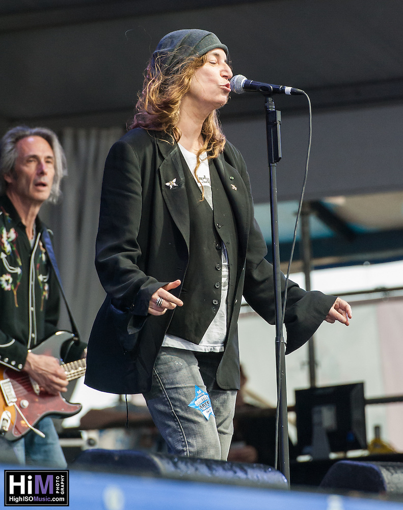 Patti Smith performs at the 2013 Jazz and Heritage Festival in New Orleans, LA on May 2, 2013.  © HIGH ISO Music, LLC / Retna, Ltd. (HIGH ISO Music, LLC)