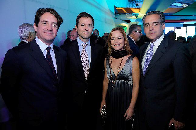 Leo Matos, Roberto Bonetti, Xiomara Matos y Luis Rodriguez