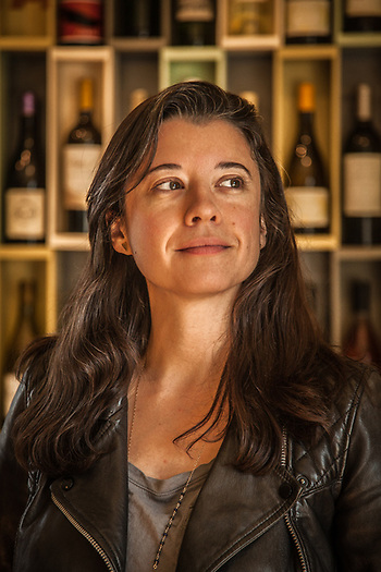 Erin Sullivan at Acme Fine Wines, Saint Helena (Clark James Mishler)