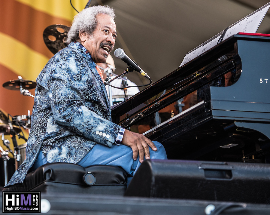 Allen Toussaint performs at the 2014 Jazz and Heritage Festival in New Orleans, LA. (HIGH ISO Music, LLC)