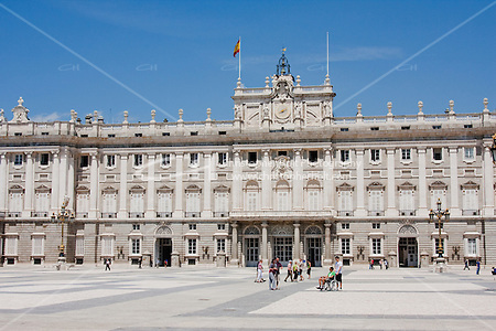 palacio real royal palace in madrid spain (Christopher Holt LTD London UK/Image by Christopher Holt - www.christopherholt.com)