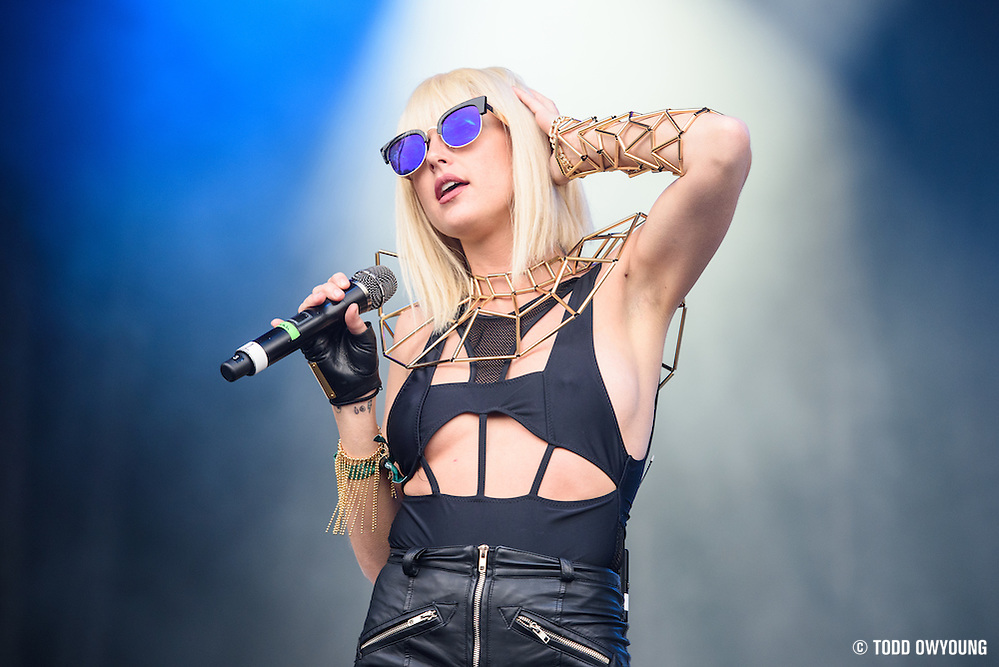 Big Grams photographed performing at the Governors Ball Music Festival on Randalls Island in New York City on June 3, 2016 (Todd Owyoung)