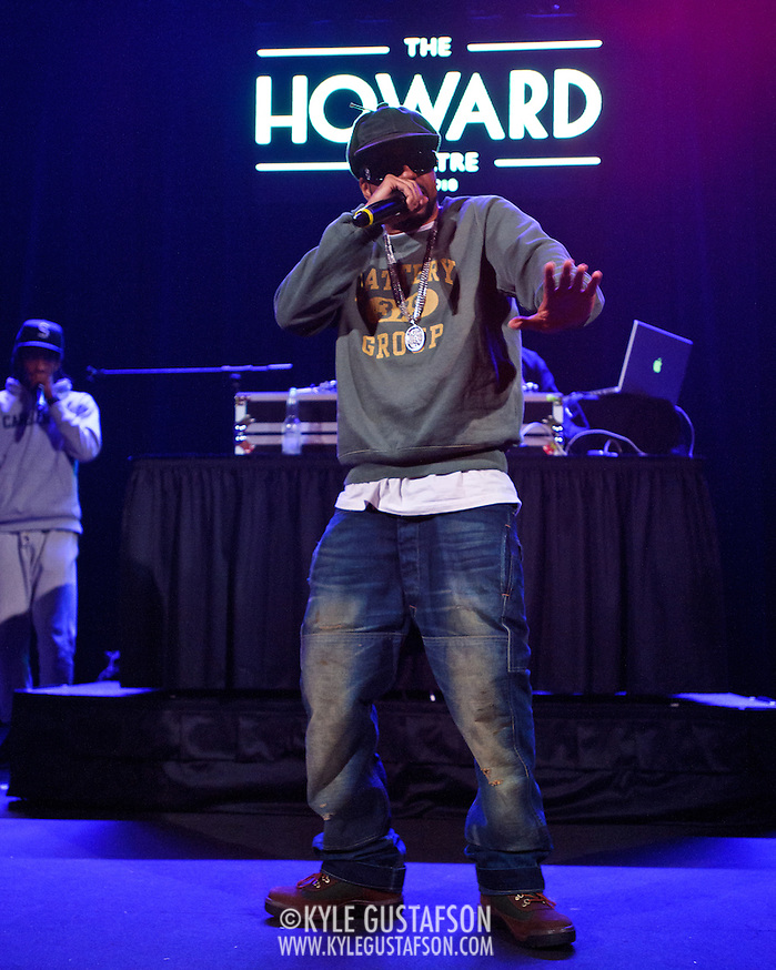 WASHINGTON, DC - January 22nd, 2013 - Long Island rapper Roc Marciano performs at the Howard Theater in Washington, D.C.  His sophomore album, Reloaded, was released to widespread acclaim in November 2012. (Photo by Kyle Gustafson/For The Washington Post) (Kyle Gustafson/For The Washington Post)