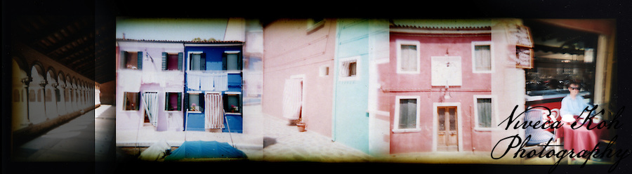 Holga film photographs shot in Venice, Italy (Viveca Koh)