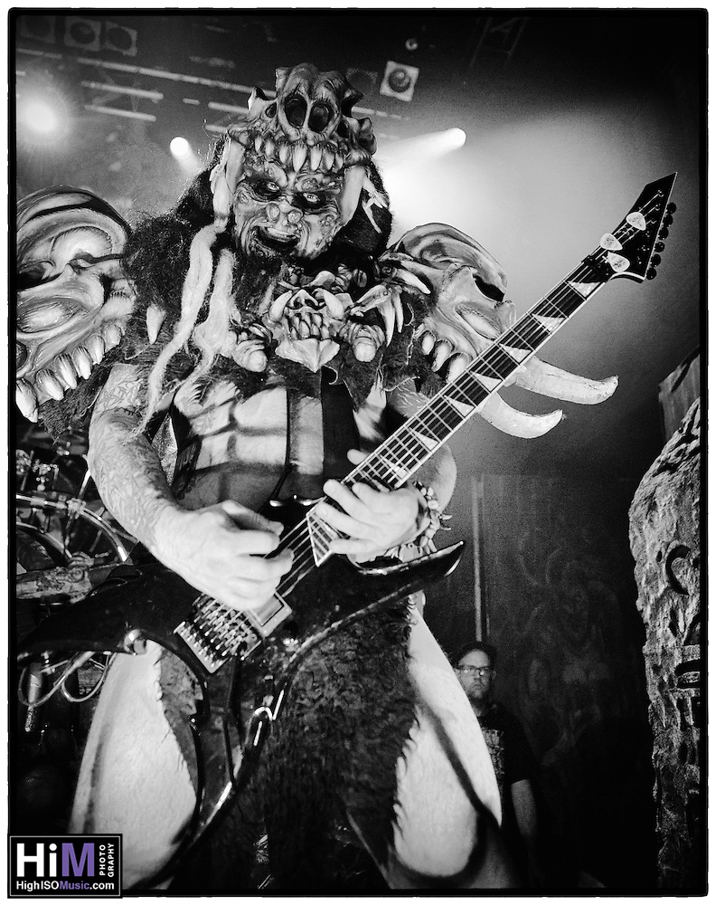 Gwar performs at the House of Blues in 2014 in New Orleans, LA. (High ISO Music)