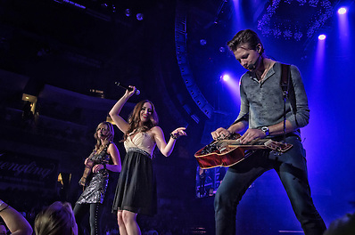 Eden's Edge performing at Huntington Center in Toledo, OH on October 4, 2012 as part of the Rascal Flatts Changed Tour (Jon Diener)