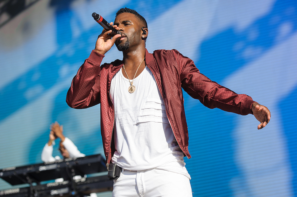 Photos of Jason Derulo performing live for Billboard Hot 100 Music Festival at Nikon at Jones Beach Theatre in Wantagh, NY. August 22, 2015. Copyright © 2015. Matthew Eisman. All Rights Reserved (Matthew Eisman/Photo by Matthew Eisman)