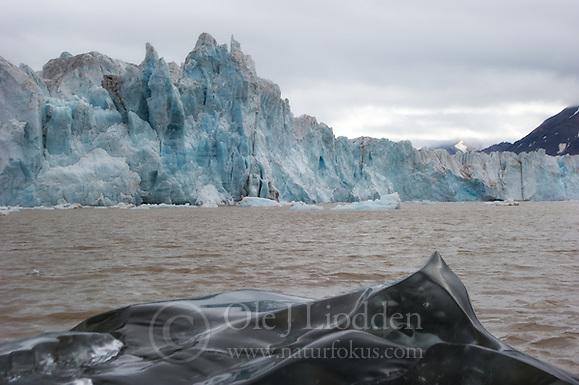 Kongsbreen glacier on Svalbard (Ole Jørgen Liodden)
