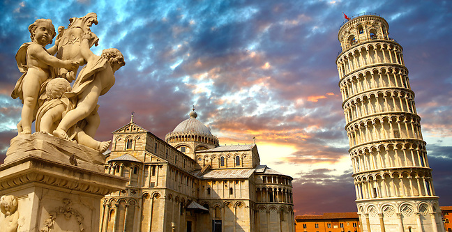 Leaning Tower of Pisa - Pizza  del Miracoli - Pisa - Italy (Paul Williams)